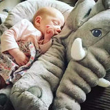 Children's Plush Elephant Stuffed Doll & Pillow - 40/60cm (1 pc)