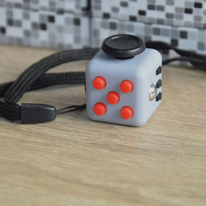 Mini Cube Relieves Anxiety and Stress - Squeeze Toy Helps with Fidgeting (11 Styles)