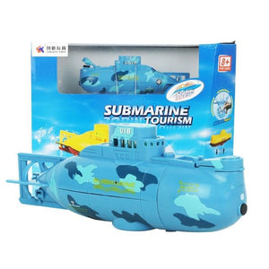 Tourist Submarine Wireless RC High Speed Racing Boat for Underwater Adventure Remote Control Toy