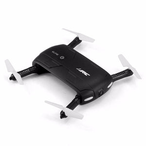 JJRC H37 Elfie Black 6-Axis Gyro WIFI FPV Quadcopter Selfie Drone Foldable RC Drone with 2.0MP HD Camera Helicopter RTF