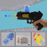 2-in-1 Toy Gun for Shooting Soft Water Crystals Beads and Soft Foam Bullets
