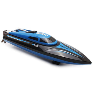High Speed Remote Control Racing Boat with LCD Screen - 2.4GHz 4 Channel 30km/h RC Speed Boat