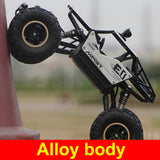 Monster Truck Off Road 4WD Remote Control Truck - 1:12 Scale 2.4Ghz RC Off-Road Truck