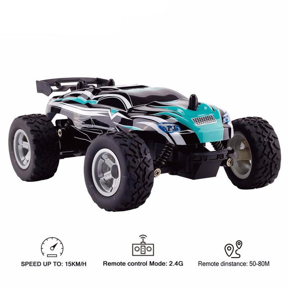 Children's Remote Control Off Road Car - 1:18 Scale 2.4Ghz RC 15km/hr Racing Car