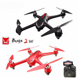 Bugs 2W Professional Quadcopter Drone with 1080P Camera WiFi FPV Brushless RC Drone with GPS 1km Remote Control RTF Auto Take-off