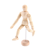 Wooden Mannequin with Movable Limbs - (3 sizes available)