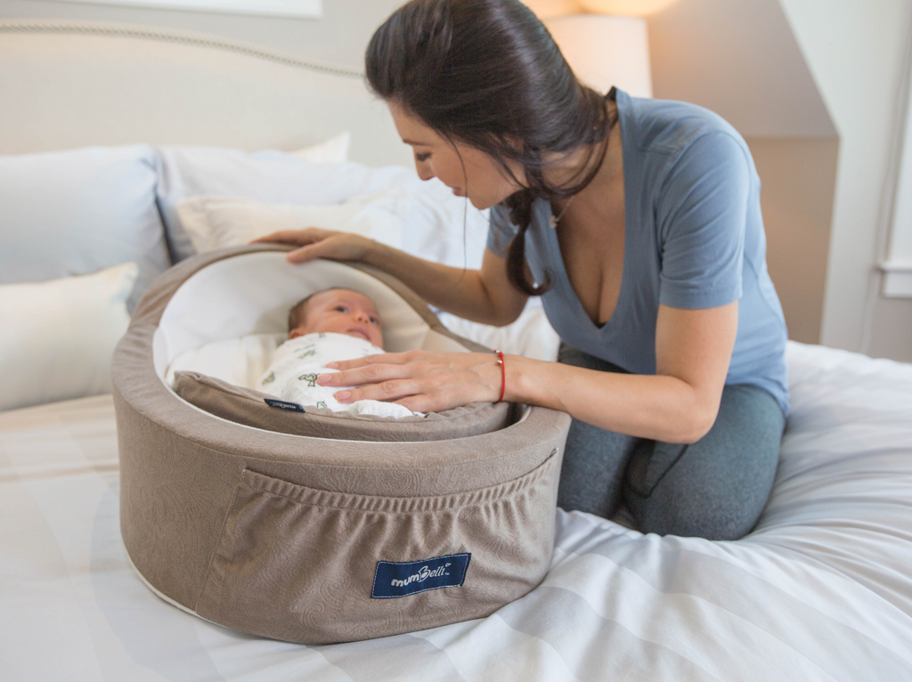 Mumbelli Creates Womb-Like Beds For Babies!