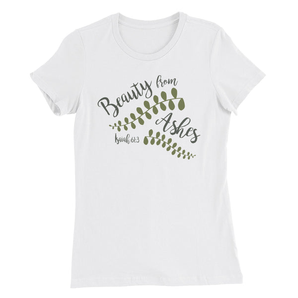 Beauty from Ashes | Women's Slim Fit T-Shirt