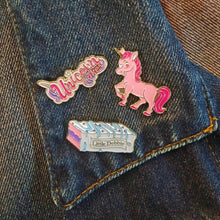Load image into Gallery viewer, Little Debbie® Unicorn Pin Set