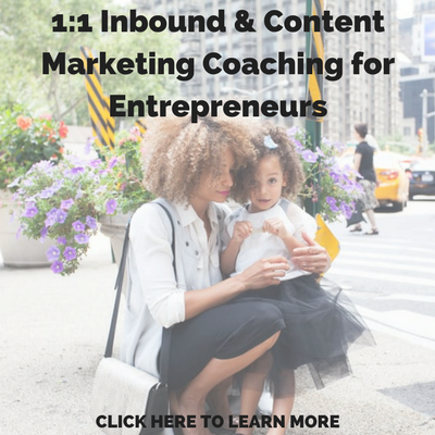 Content Marketing Coaching for Entrepreneurs