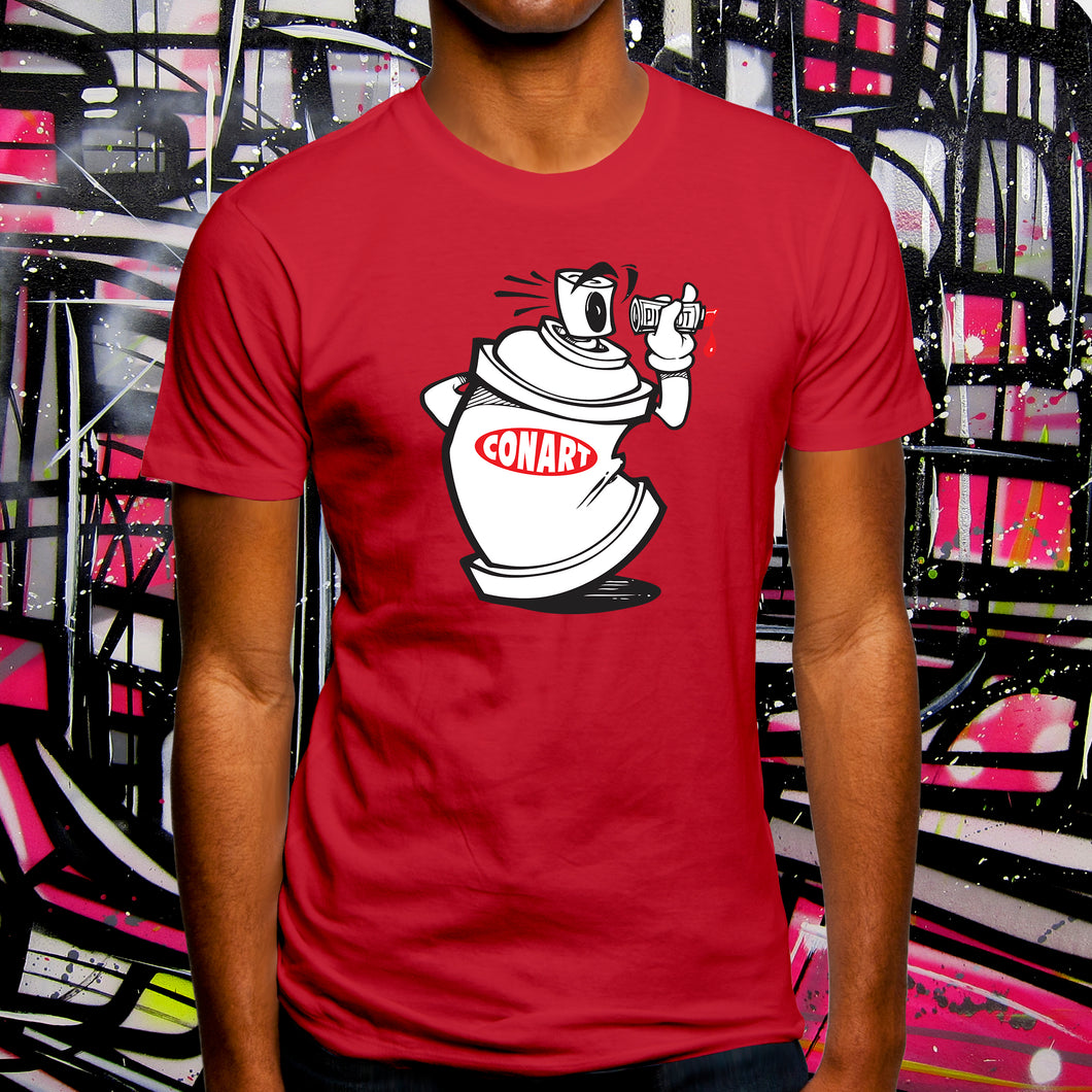 CANVANDAL RED TEE - MENS