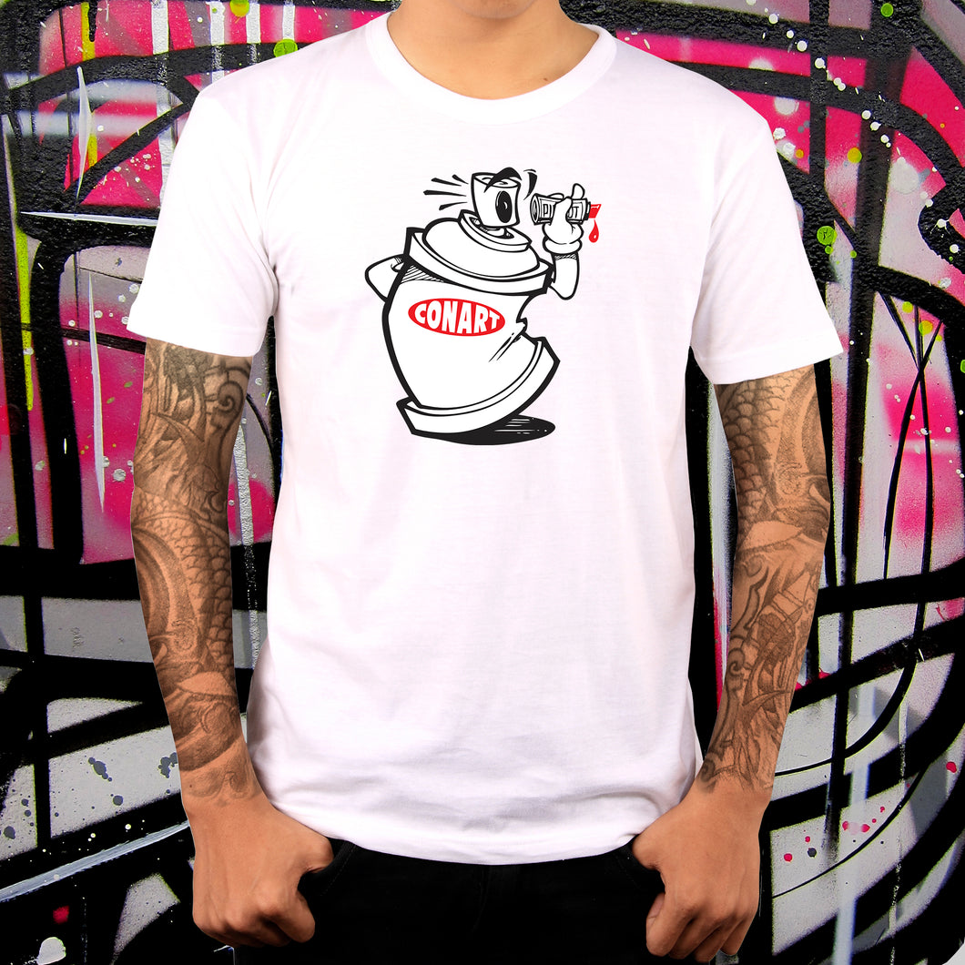CANVANDAL WHITE TEE - MENS