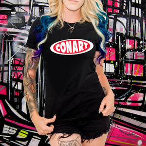CONART BLACK TEE - WOMENS
