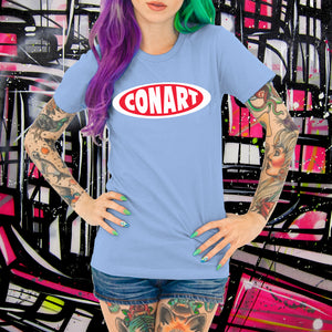 CONART POWDER BLUE TEE - WOMENS