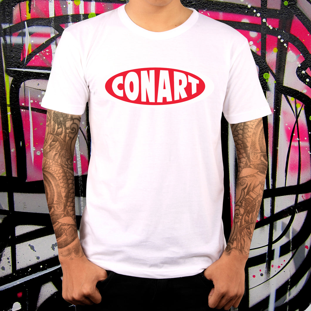 CONART WHITE TEE - MENS