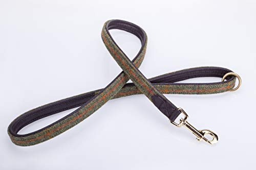 Pear Tannery Tweed Dog Lead 3/4