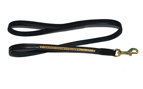 Pear Tannery Clincher Leather Dog Lead 5/8