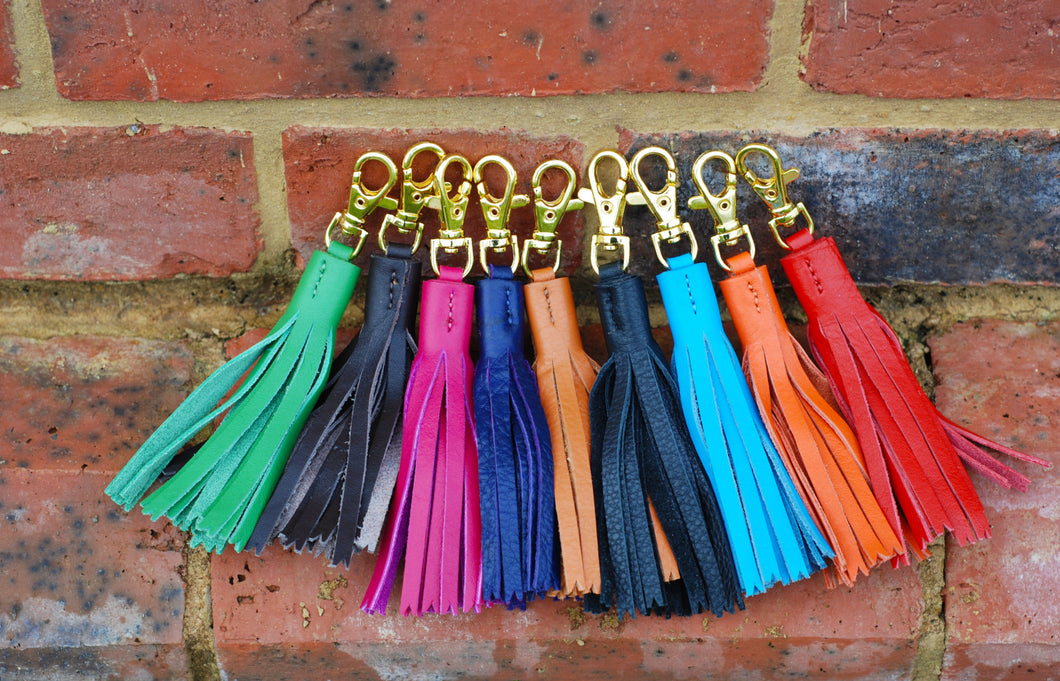Pear Tannery Soft Leather Tassel