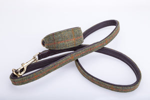 Pear Tannery Tweed Dog Lead 3/4""