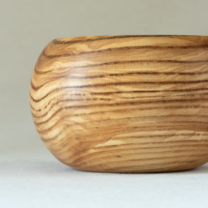 Closed-Form Olive Ash Bowl/Vase
