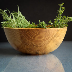 Small Olive Ash Fruit Bowl