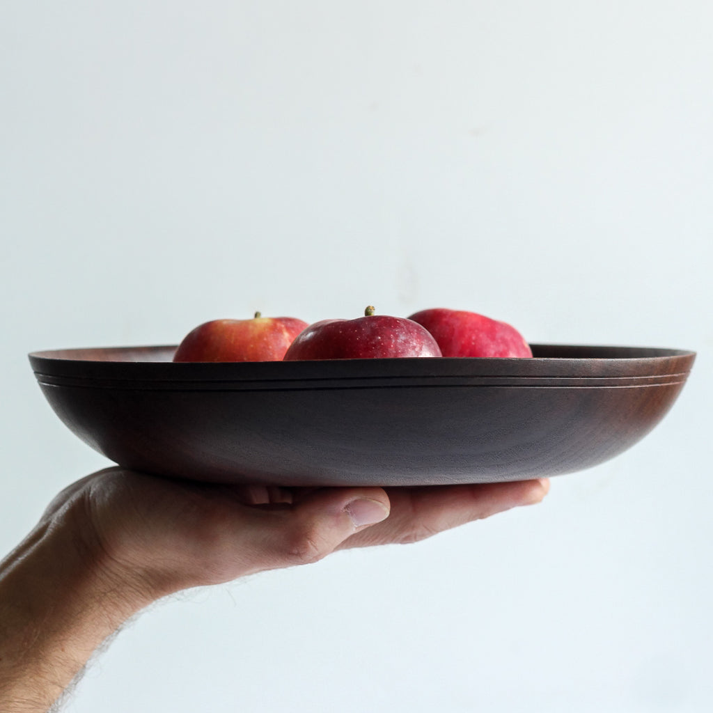 Black Walnut Fruit Bowl