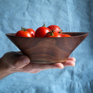 Small Black Walnut Fruit Bowl