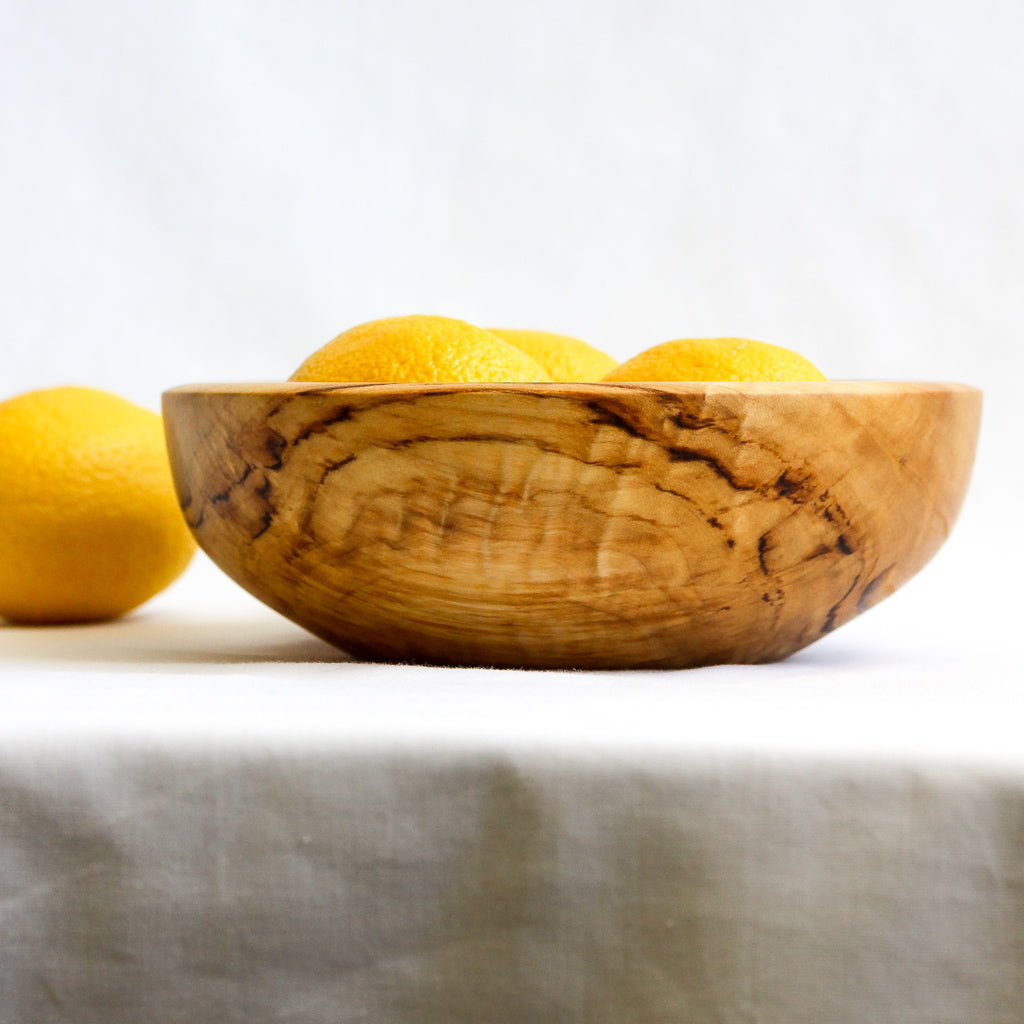 Small Spalted Aspen Bowl