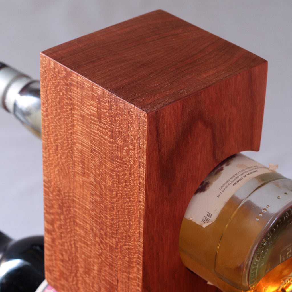 Tabletop Wine Rack from Solid Cherry Wood (#1011)