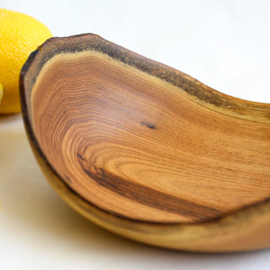 Small Natural Edge Butternut Bowl 2
