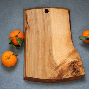 "Natural Edge Maple ""Ripple"" Cutting Board"