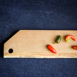 Spalted Cherry Serving Bar Board (0104)