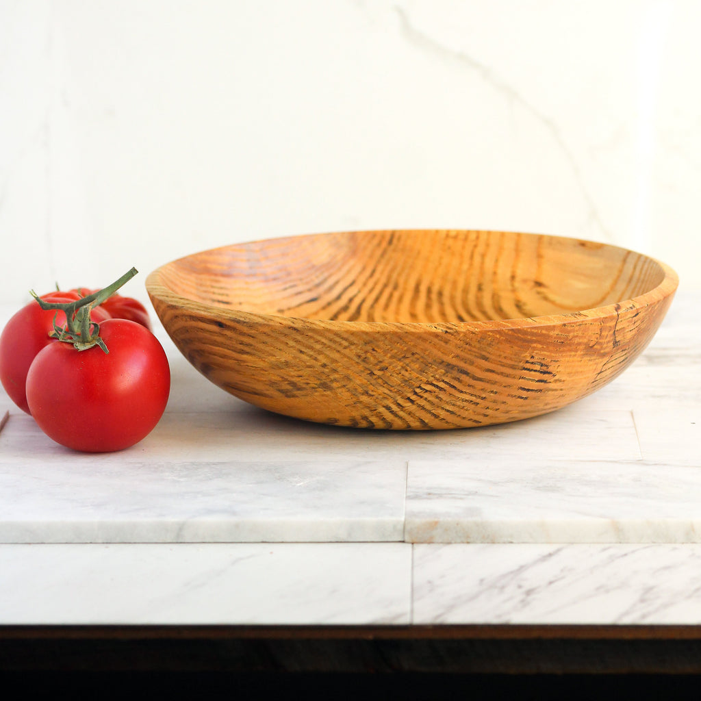 Spalted Ash Vegetable Bowl