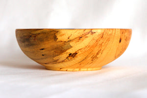 Small Spalted Maple Bowl