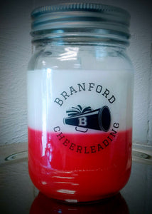 Branford Youth Cheerleaders Candle