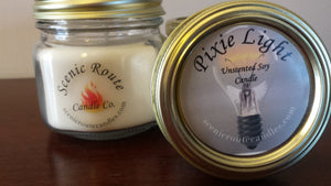 Pixie Light - Unscented Soy Candle