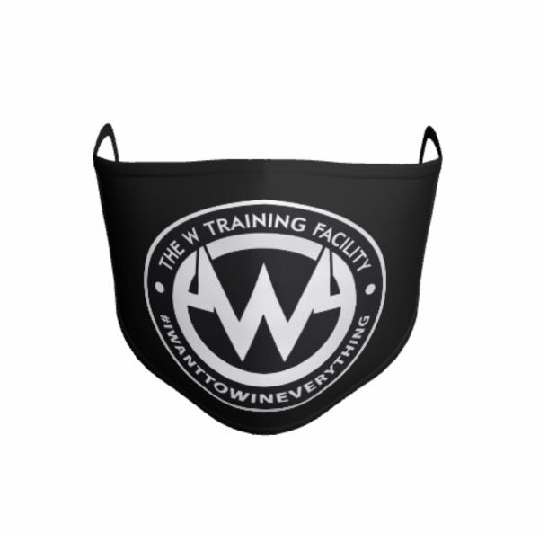 Microfiber Face Mask || The W Training Facility