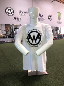 "Mens: White ""The W"" Short Sleeved T-Shirt"