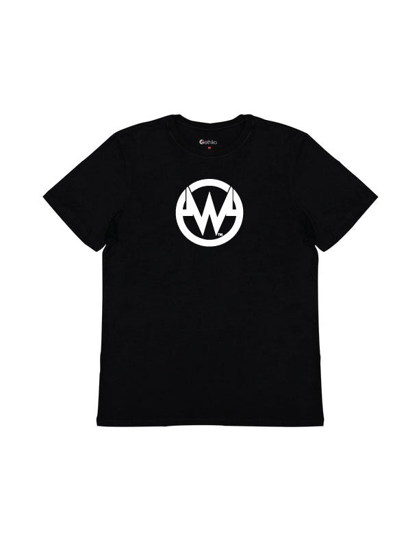 """The W"" Black Classic Fit Tee - Ethika Branded"