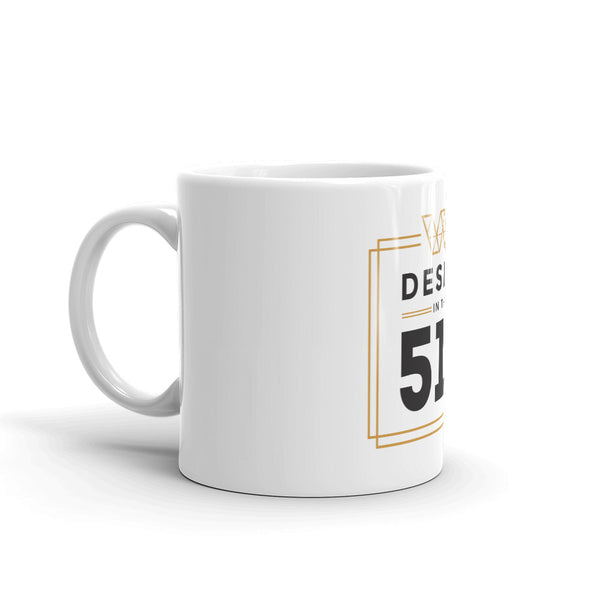 Design in the 519 mug