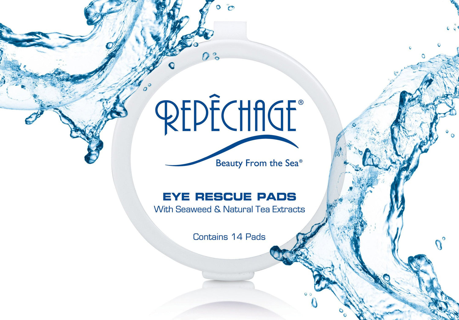 Eye Rescue Pads with Seaweed and Natural Tea Extracts (Travel Size)