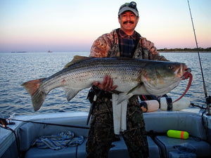 Pro Talk: Big Soft Baits for Block Island Sound Stripers