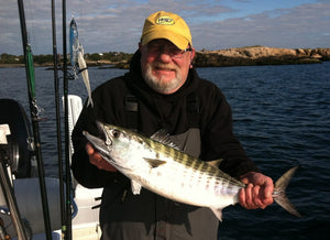 Pro Talk: Bay Anchovy Sand Eel Jigs for Rhode Island Bonito & Albies