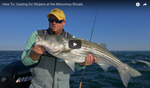 Fishing the Rips for Stripers with Epoxy Jigs