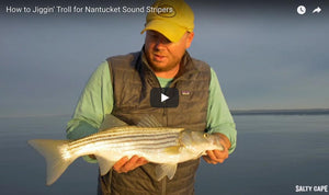 Jigging Nantucket Sound Rips with Lead Core