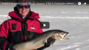 Trophy Lake Trout Ice Fishing