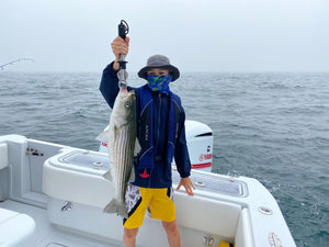 Pro Talk: Casting to Striped Bass Throughout the Water Column with the Hogy Heavy Minnow Jig off the Cape