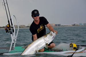 How-To: SUP Tarpon Fishing with Hogy Soft Baits