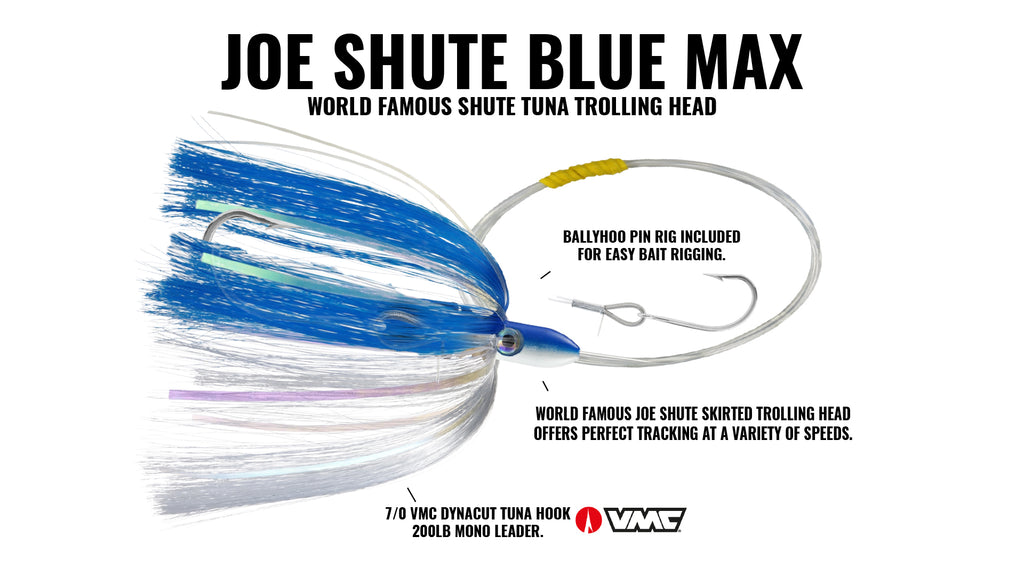 Joe Shute Blue Max + Pin Rig