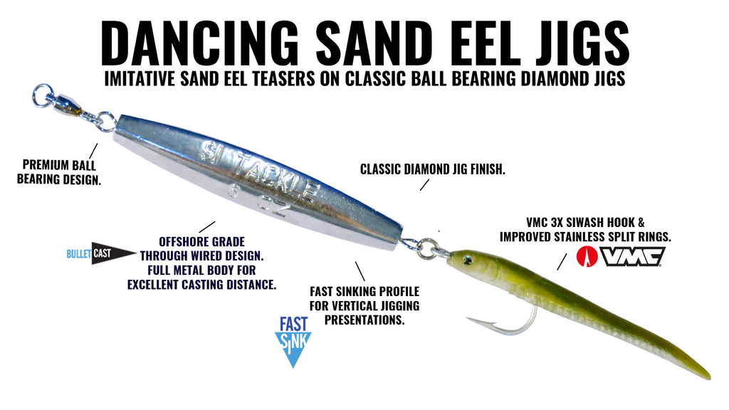 hogy dancing sand eel jig diagram